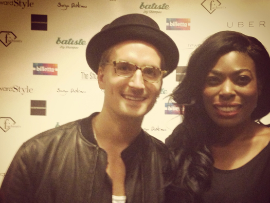 Lots of 'Slebs' mingled with guests  including Made In Chelsea's Oliver Proudlock!