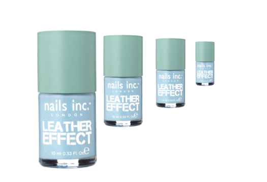 Nails Inc leather effect polish (£12) in 'Dalston' is my ultimate nail crush colour right now!