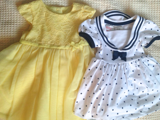 She has already done/bought so much but we both thought it was sweet that my mum made the effort to find replicas of dresses I had as a baby! She has already done/bought so much but we both thought it was sweet that my mum made the effort to find replicas of dresses I had as a baby!