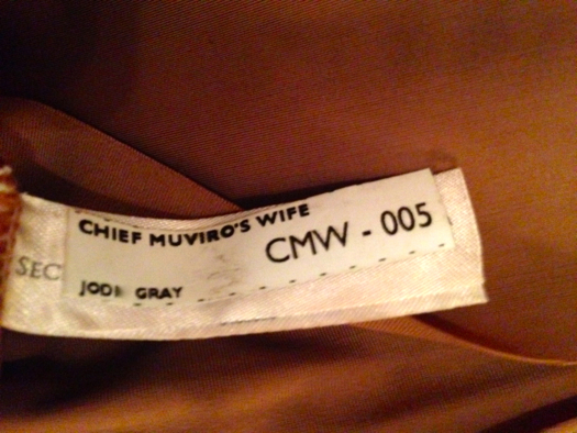 I was cast as one of Chief Muviro's wives. (Check out the burial scene)